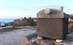 Byblos Sarcophagus Stock Photo