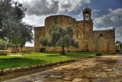 Byblos St. John S Church Royalty Free Stock Images