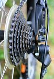 Bycicle derailleur Royalty Free Stock Photos