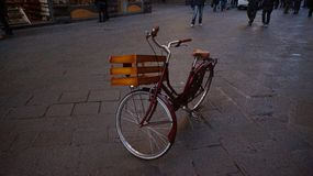Bycicle in Florence. Bike Bycicle Street Florence Vintage Design Travel Stock Photography