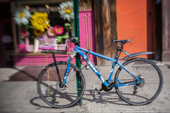 Bycicle Greenwich Village New York City Royalty Free Stock Photo