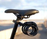 Bycicle lock Royalty Free Stock Image