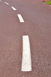 Bycicle path Royalty Free Stock Photography
