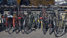 Bycicles Royalty Free Stock Photo