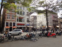 Amsterdam Bycicles Royalty Free Stock Image