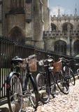 Bycicles in de straat Royalty-vrije Stock Fotografie