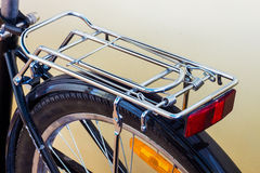 Bycycle πίσω με το ράφι Στοκ εικόνα με δικαίωμα ελεύθερης χρήσης