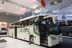 BYD electric bus Royalty Free Stock Photography