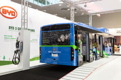 BYD elektryczny autobus Obrazy Stock