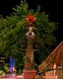 Bydło pomnik w Chandler Arizona Obraz Royalty Free
