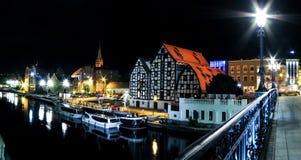 Bydgoszcz - οδός γεφυρών Στοκ Φωτογραφίες