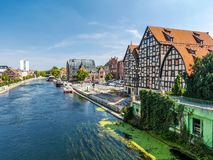 Bydgoszcz Canal Royalty Free Stock Images