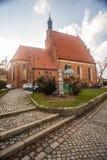 Bydgoszcz - catedral de San Martín y de San Nicolás Imágenes de archivo libres de regalías