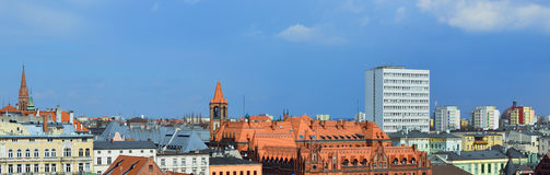 Bydgoszcz, city in Poland. Stock Photos
