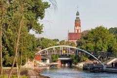 Bydgoszcz Cityscape in Poland Stock Photo