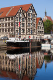Bydgoszcz Granaries in Poland Royalty Free Stock Photos