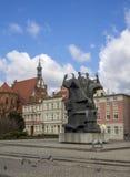 Bydgoszcz - Hauptplatz Lizenzfreie Stockbilder
