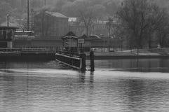 Bydgoszcz kanal Royaltyfri Bild
