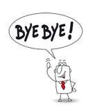 Bye - bye Royaltyfri Foto