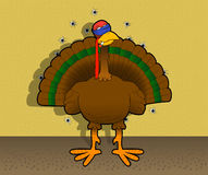Bye-bye_turkey Royalty Free Stock Photography