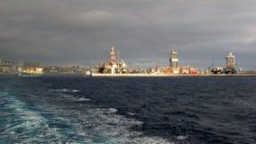 Bye, Las Palmas secondaire photos libres de droits