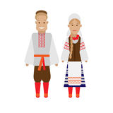 Byelorussian national dress Royalty Free Stock Photography
