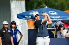 Byeonghun在泰国高尔夫球冠军2015年 库存图片