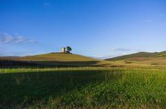 Bygd Bibbona, Tuscany Royaltyfri Fotografi