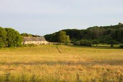 Bygd i söderna besegrar, East Sussex, UK fotografering för bildbyråer