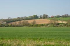 Bygd nära Shoreham, Sussex, England Arkivfoto