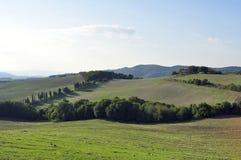bygd tuscan Arkivbild