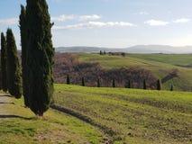 bygd tuscany arkivfoton