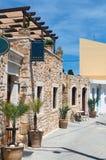 Bygdkrog i den grekiska byn, Kreta, Grekland Royaltyfri Foto