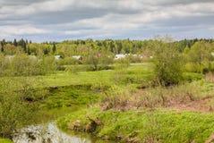 Bygdlandskap 1 Fotografering för Bildbyråer