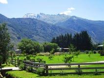 bygdliggande New Zealand Arkivfoto