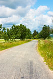 bygdväg Arkivfoto