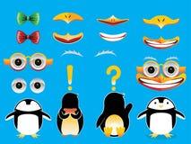 Bygg en pingvin Arkivfoto