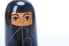 bygga bo kvinna för arabisk burkadocka Arkivbilder
