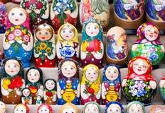 Bygga bodockor för ryss Royaltyfri Bild