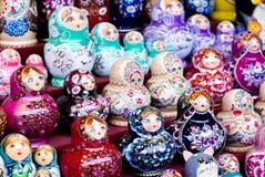 Bygga bodockor för ryss Fotografering för Bildbyråer