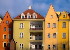 Byggande arkitektur i Polen royaltyfri foto