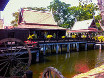 Byggande av 3 Chao Sam Phraya National Museum Royaltyfri Bild