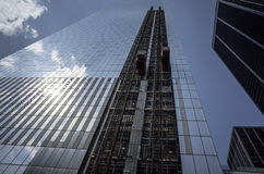 Byggande av en skyskrapa Royaltyfri Foto