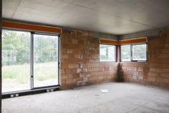 Byggande av ett hus Royaltyfri Fotografi