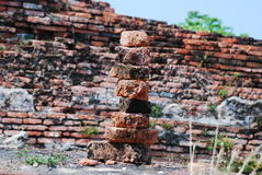 Byggande av stenen Arkivbilder