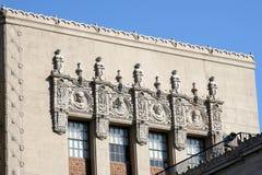 byggande dekorativ facade Royaltyfri Fotografi