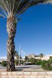 Byggande detaljer i Santa Catalina Royaltyfri Fotografi