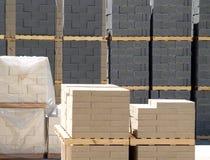 byggande för 11 block Arkivfoto