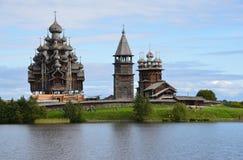 1928 byggande för norr windmill för by russia för kizhi ryss traditionella Royaltyfri Fotografi