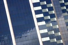 byggande företags facade arkivfoto